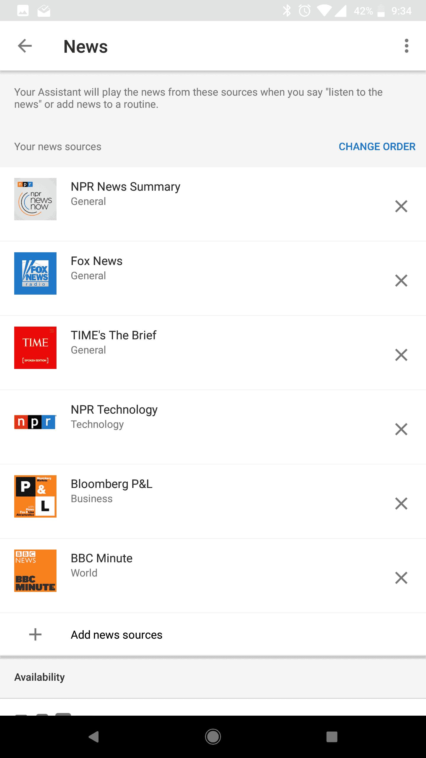 Google Home Mini AH NS Screenshots news