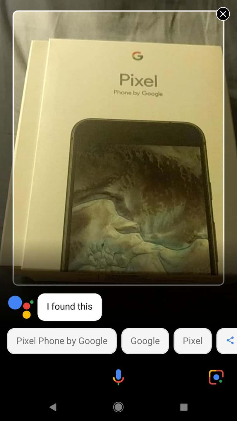 Google Lens Spotted in Assistant Screenshot from Redditor DHatch207 SS01