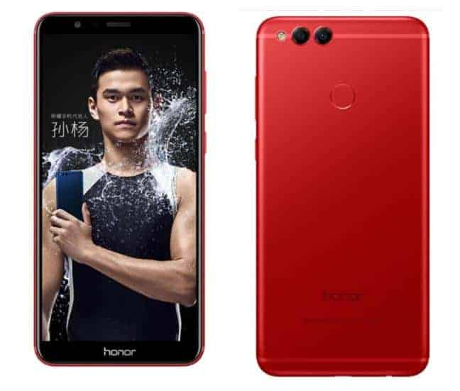Honor 7X Flame Red 3