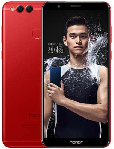 Honor 7X Flame Red 4