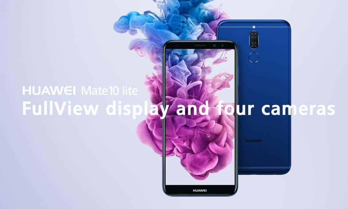 Huawei Mate 10 Lite Official Listing Appears Priced At 399