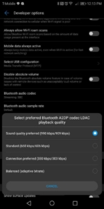 Huawei Mate 10 Pro AH NS screenshots audio bluetooth 2