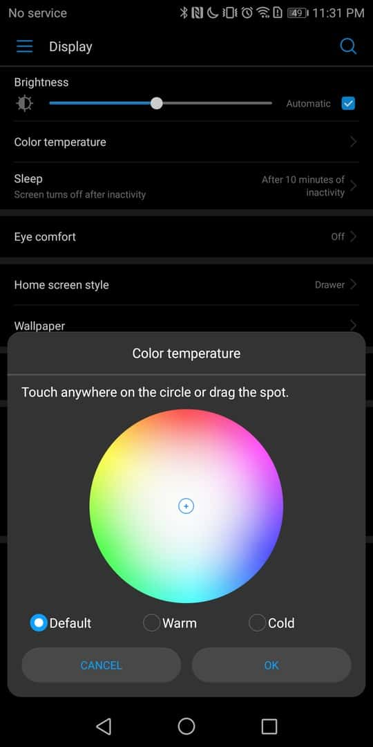 Huawei Mate 10 Pro AH NS screenshots display 2