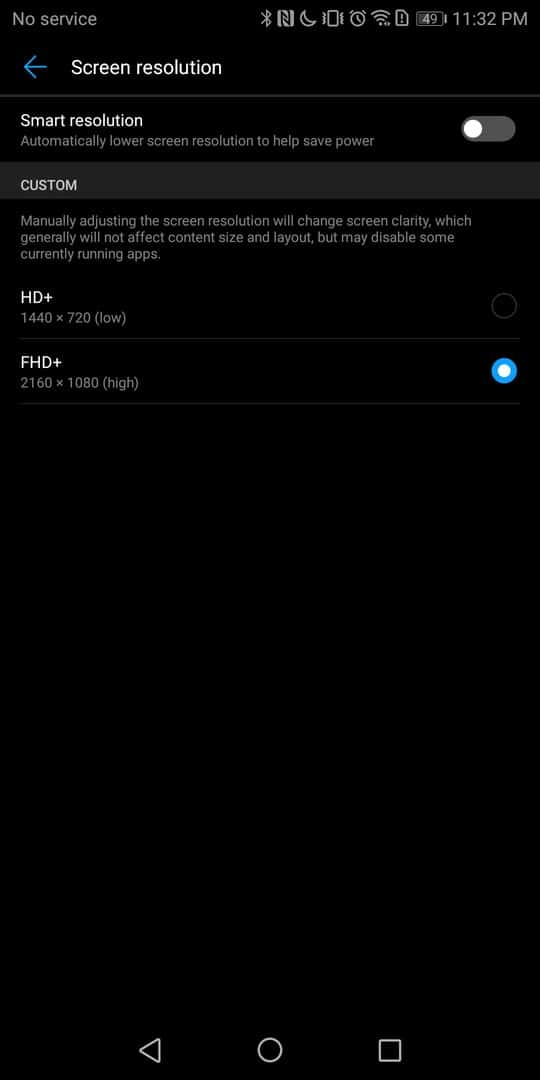 Huawei Mate 10 Pro AH NS screenshots display 6