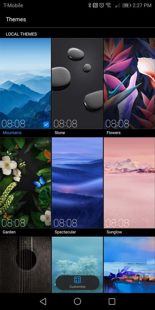 Huawei Mate 10 Pro AH NS screenshots themes 1