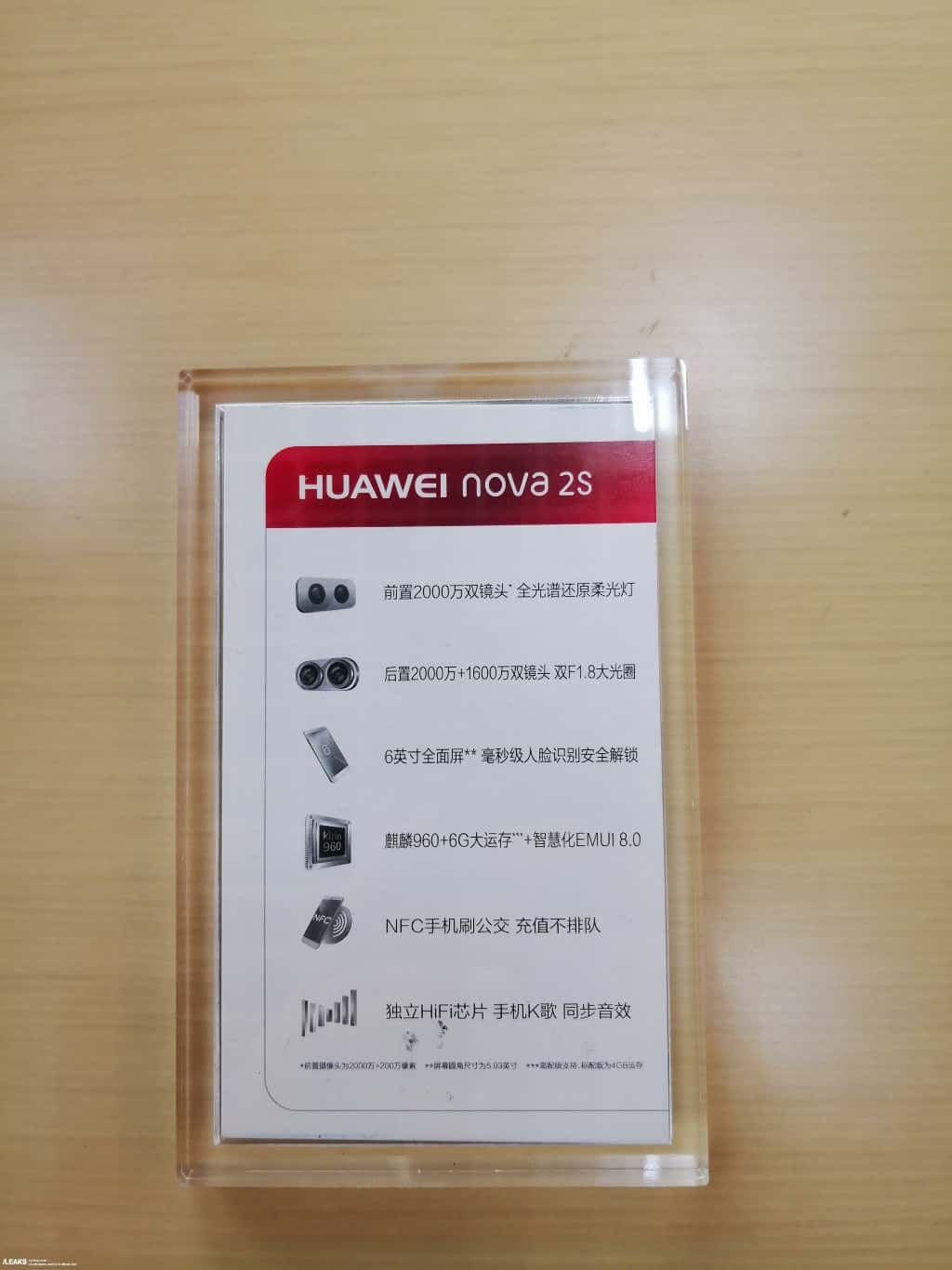 Huawei Nova 2S real life leak 3