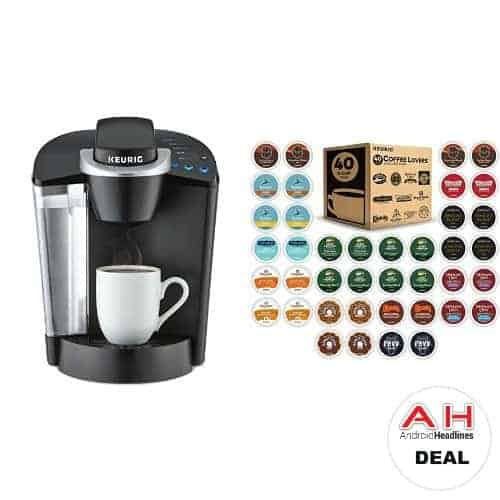 Deal Keurig K55 Brewer Amp 40ct Variety Pack Of K Cups For