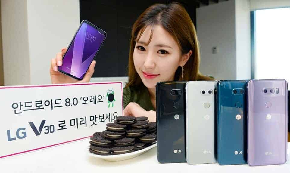 LG V30 Oreo Update Android 8.0 rolling out in Korea