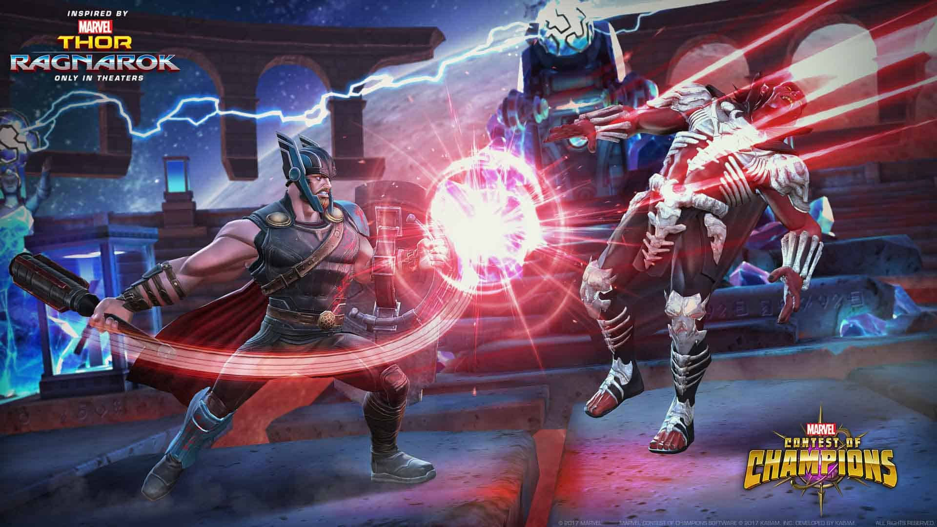 Marvel Contest Of Champions Thor Ragnarok 2 of 3