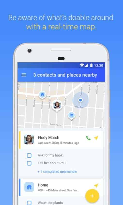 NearMinder Contacts Places Reminders Google Play Screenshot 03