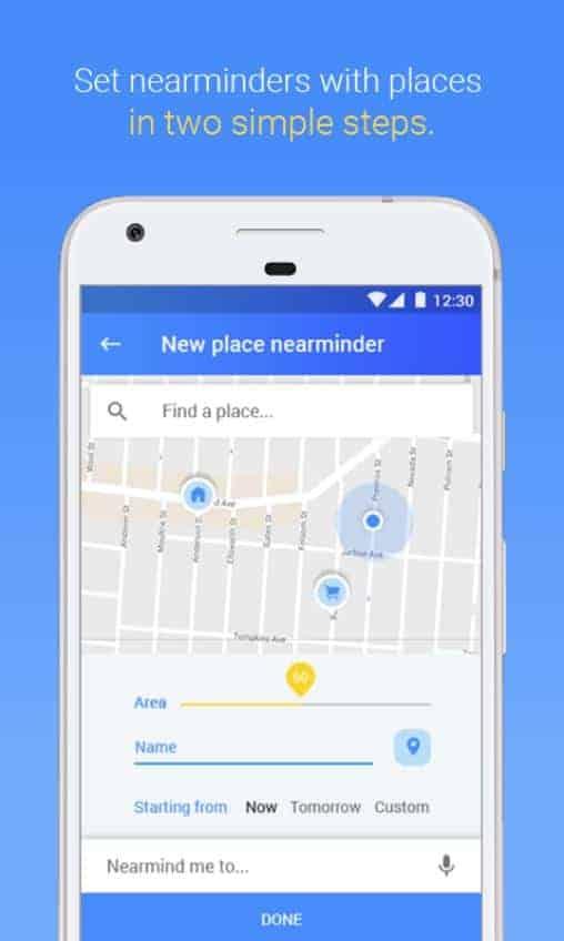 NearMinder Contacts Places Reminders Google Play Screenshot 05