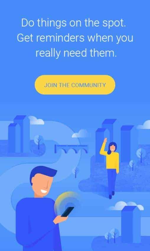 NearMinder Contacts Places Reminders Google Play Screenshot 08