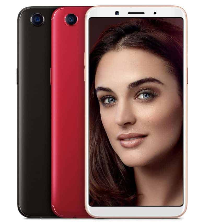 OPPO F5 Red Edition 2