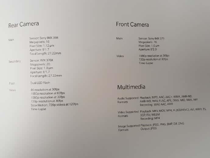 OnePlus 5T Specs Concept Leaks 3