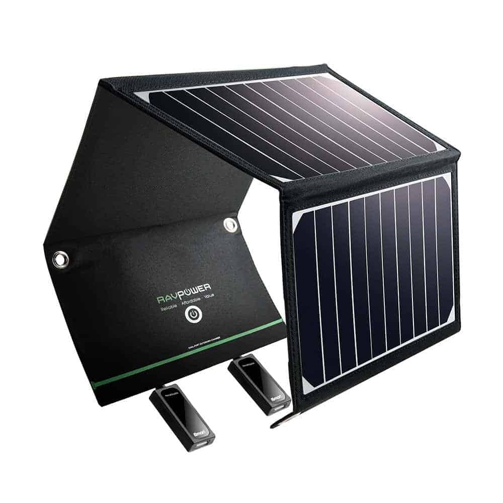 RAVPower 16W Solar Charger (November 24, 10:35AM PST - 4:35PM PST)