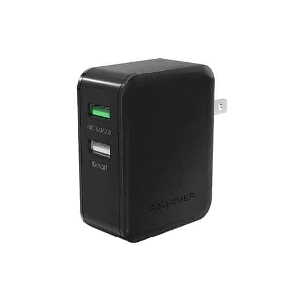 RAVPower 30W Dual USB Wall Charger (November 27, 3:40PM PST - 9:40PM PST)