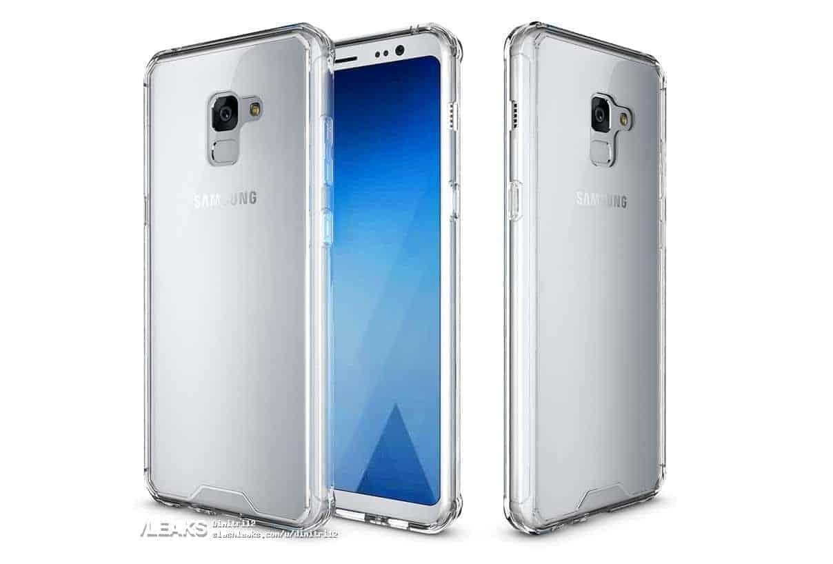 Samsung Galaxy A7 2018 gel case 2