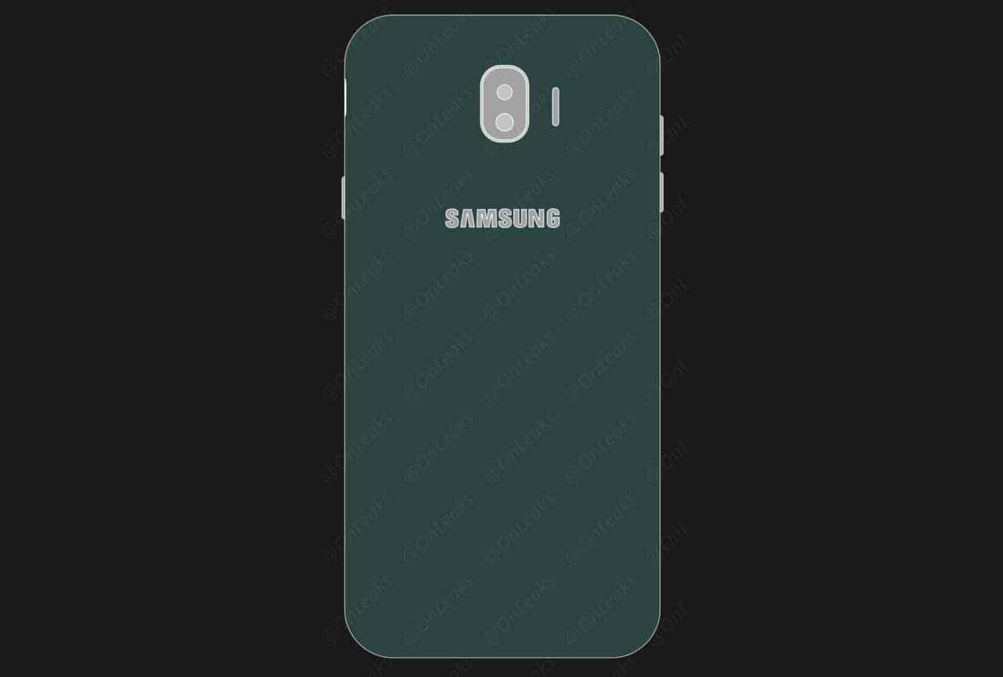 Samsung Galaxy J 2018 OnLeaks