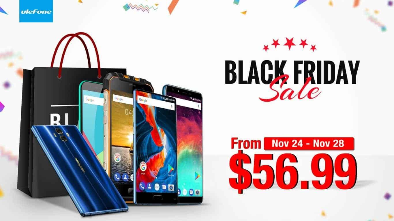 ulefone will discount five of its phones for black friday. Black Bedroom Furniture Sets. Home Design Ideas