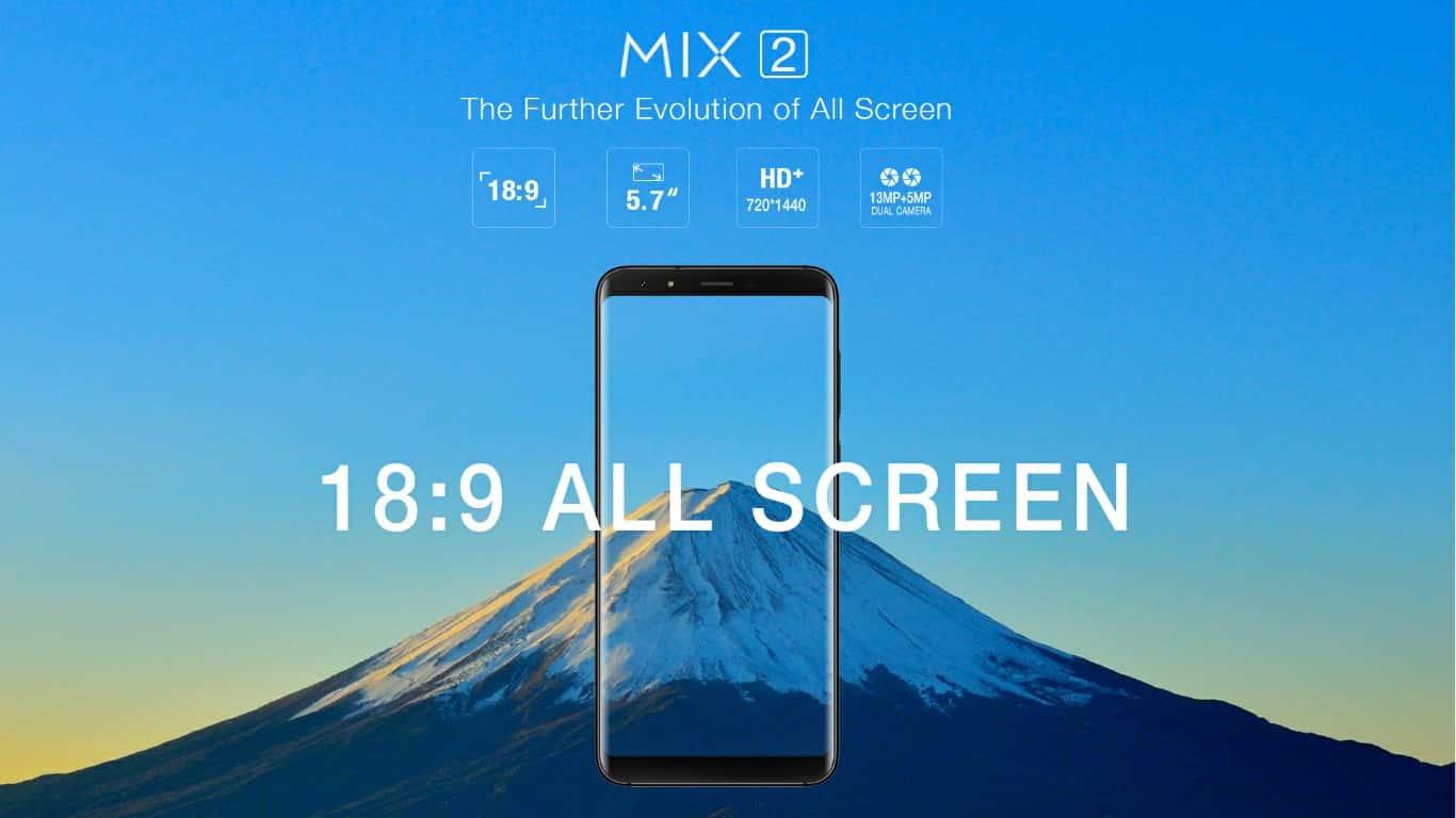 Ulefone MIX 2 3