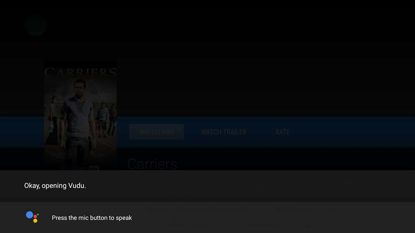 Vudu Google Assistant Android TV 01