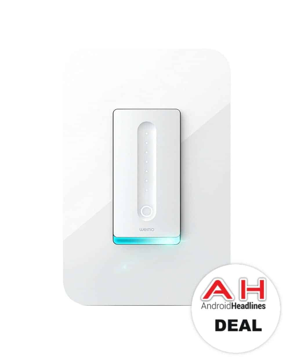 Deal: Wemo Dimmer Wi-Fi Light Switch for $49 - 11/23/17 ...
