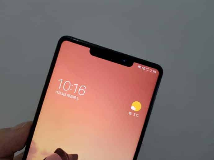 Xiaomi Mi MIX 2s real life leak 3