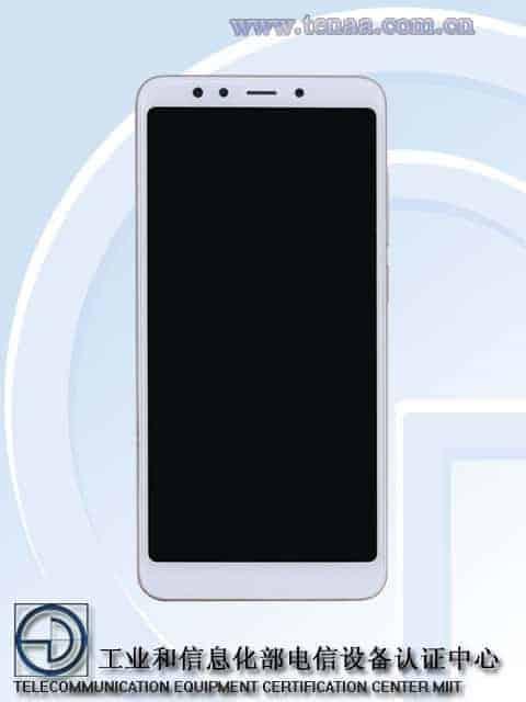 Xiaomi Redmi 5 TENAA 1