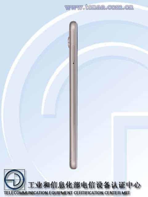Xiaomi Redmi 5 TENAA 3