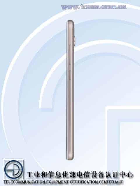 Xiaomi Redmi 5 TENAA 4