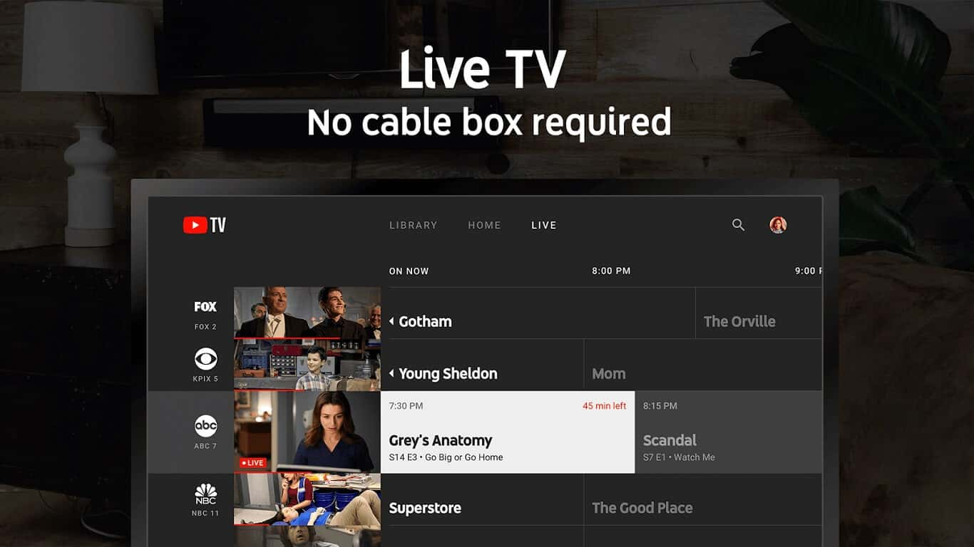 YouTube TV Android TV Play Store Screen 01 1