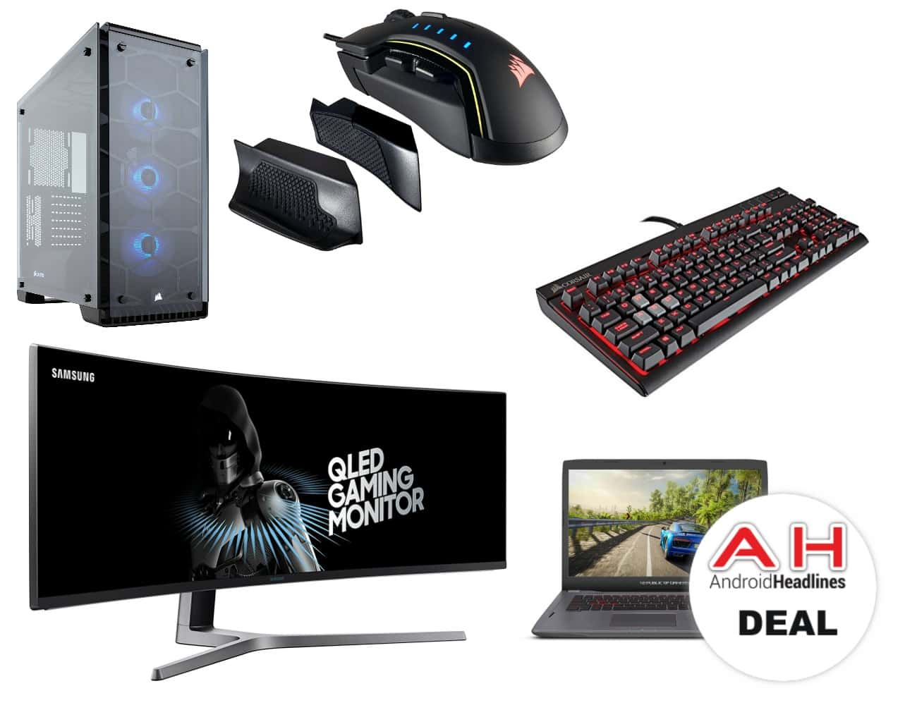deal amazon discounts gaming pc accessories components more today only. Black Bedroom Furniture Sets. Home Design Ideas