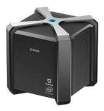 D Link AC2600 Wi Fi Router Powered by McAfee Side Left
