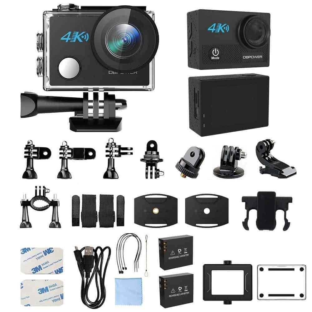 Sponsored Deal: DBPOWER N5 4K Action Camera & Accessories $53.95 With Code