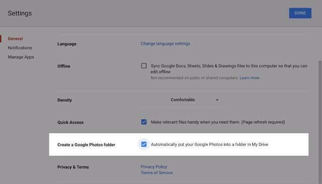 Google Drive Photos 2