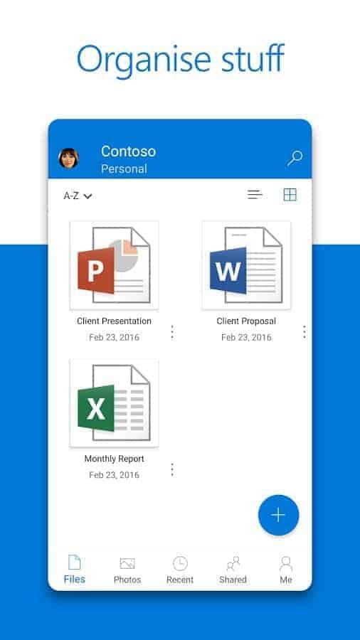 Microsoft OneDrive App 04