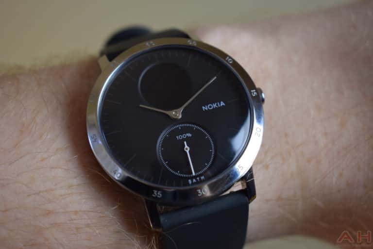 Nokia Steel HR Review AM AH 0174