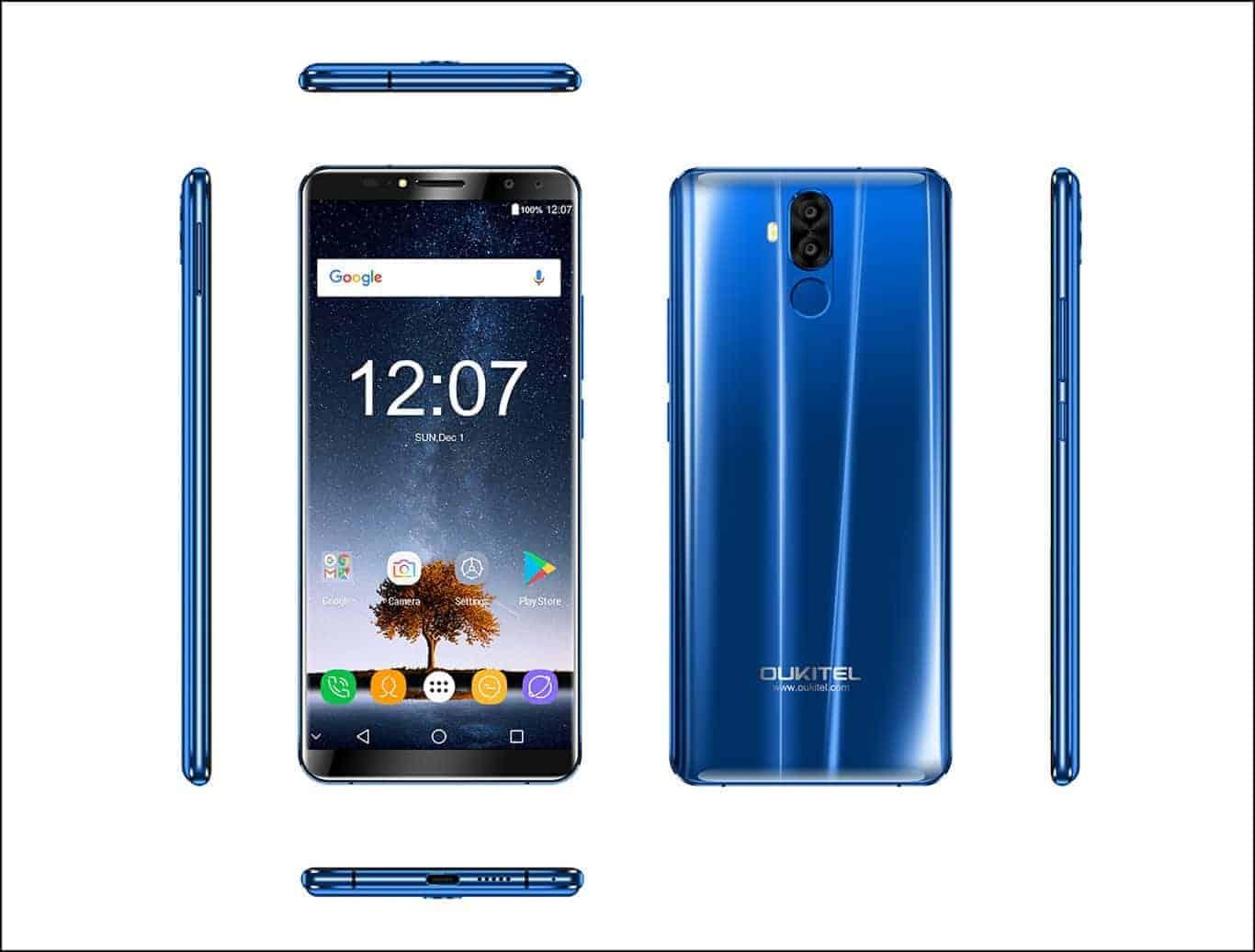OUKITEL K6 Blue 1