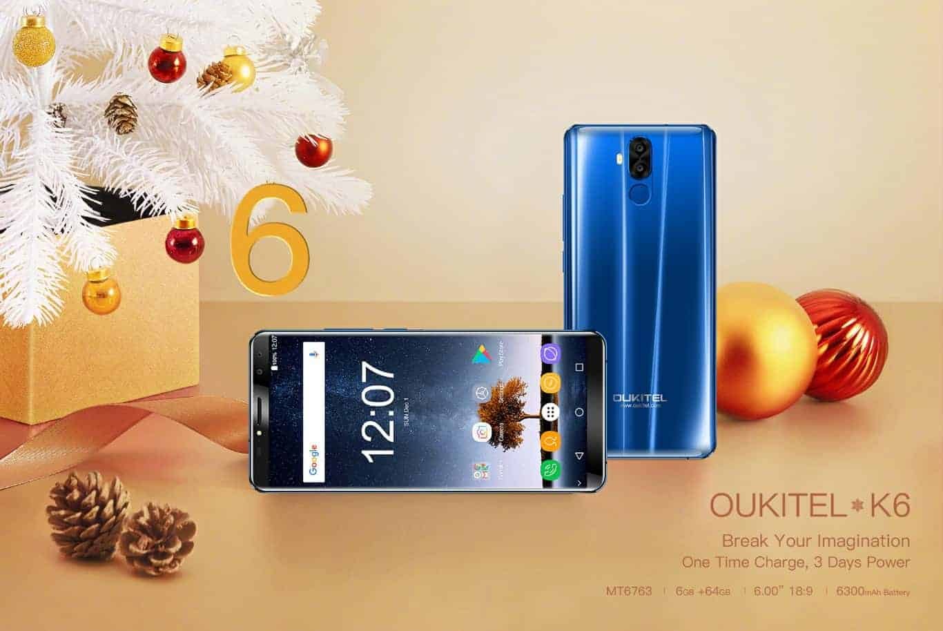 OUKITEL K6 official image 21