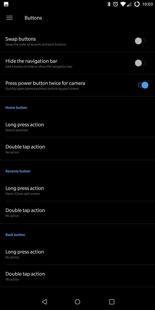 OnePlus 5T AH NS Screenshots ui buttons