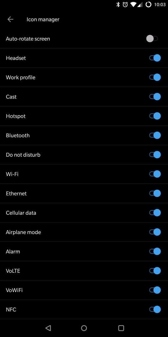 OnePlus 5T AH NS Screenshots ui icon customizations