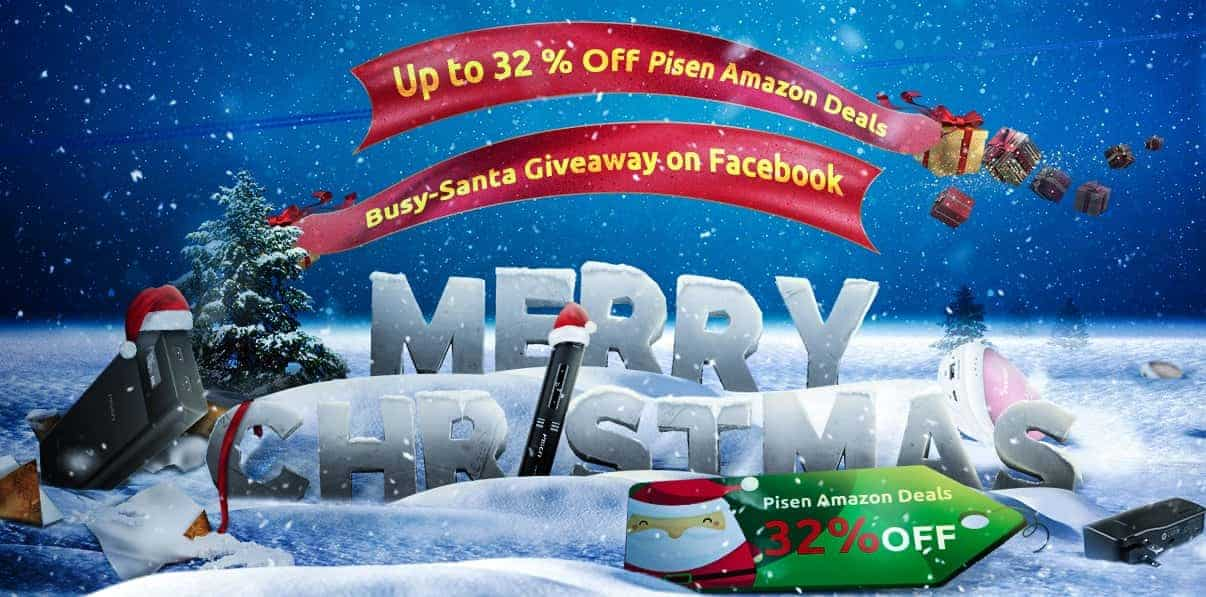 pisen intros its christmas sale discounts gadgets on amazon android news - Amazon Christmas Sale