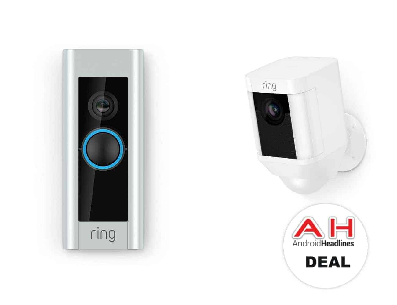 deal ring video doorbell pro for 199 spotlight cam for. Black Bedroom Furniture Sets. Home Design Ideas