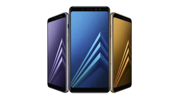 Samsung Galaxy A8 2018 and Galaxy A8 Plus 2018 official image 1