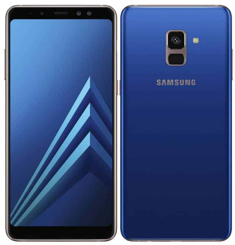 Galaxy A8 2018 A8 Plus 2018 Unveiled With Thin Bezels