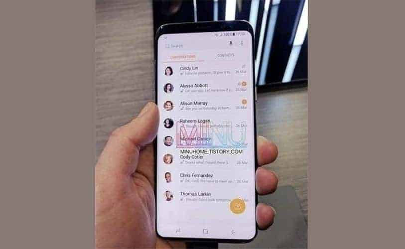 Samsung Galaxy S9 Gets Spotted Again In Leaked Live Photo ...