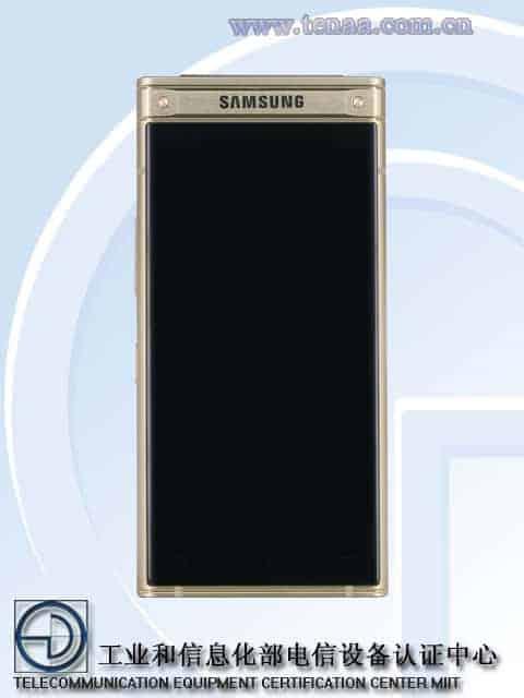Samsung W2018 TENAA 1