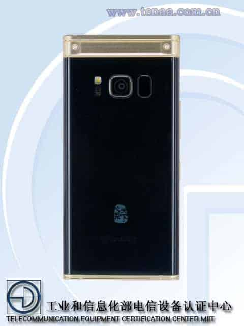 Samsung W2018 TENAA 2