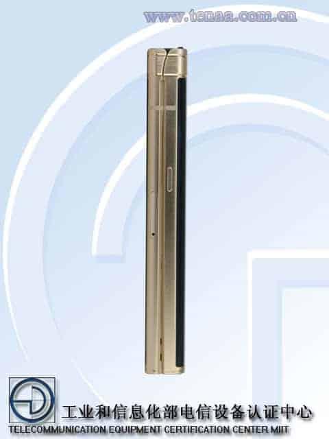 Samsung W2018 TENAA 3