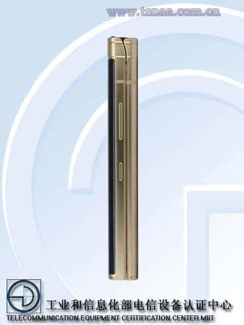 Samsung W2018 TENAA 4